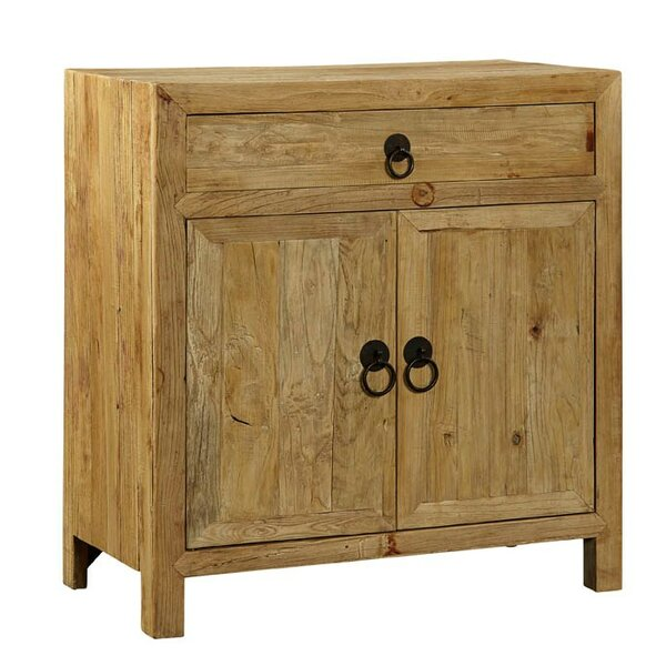 Elm 1 Drawer 2 Doors Accent Cabinet by Furniture Classics