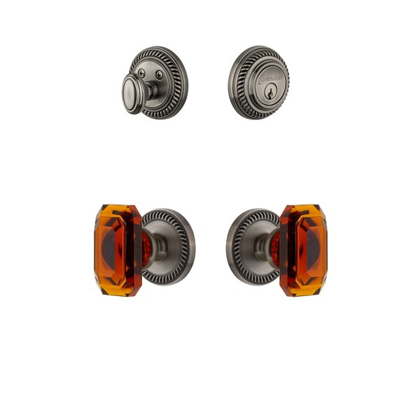 Newport Single Cylinder Knob Combo Pack by Grandeur