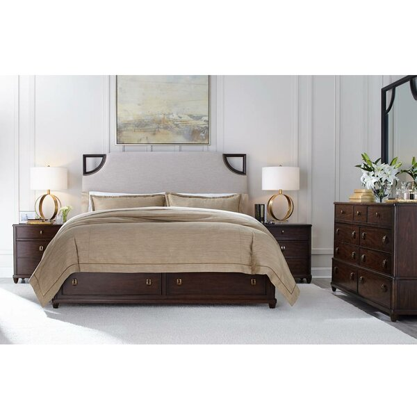 Virage Upholstered Panel Bedroom Set by Stanley Furniture
