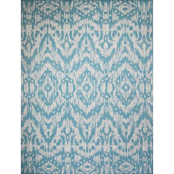 Starnes Turquoise Indoor/Outdoor Area Rug by Union Rustic