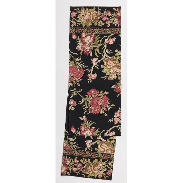 Cleaves Floral Print Table Runner by August Grove