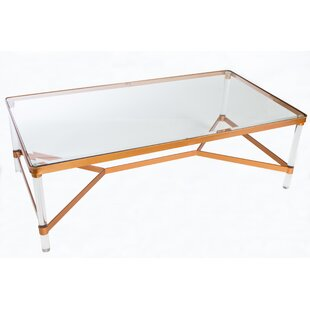 Mireille Acrylic Coffee Table