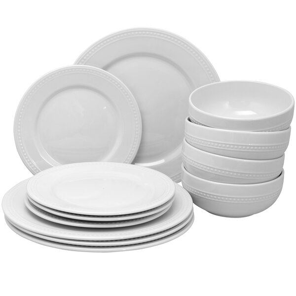 Royal Palace 12 Piece Dinnerware Set, Service for 4 by Gibson Home