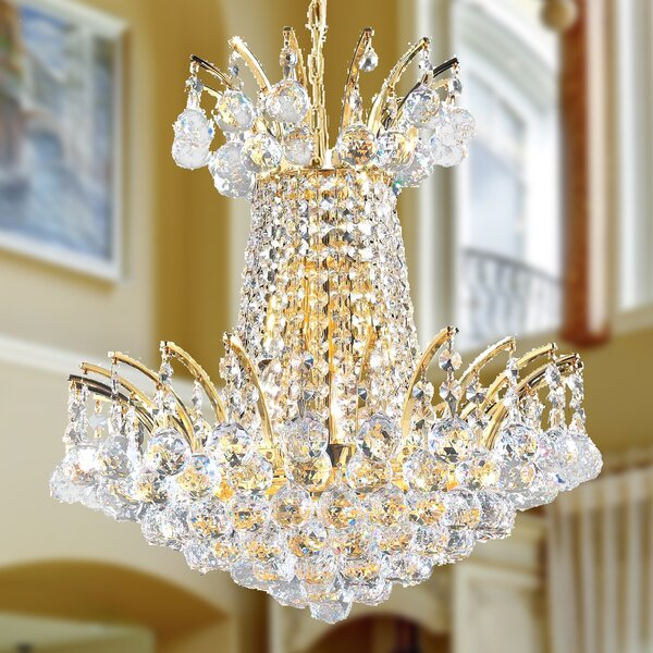 Carson 4 - Light Unique / Statement Empire Chandelier by House of Hampton House of Hampton