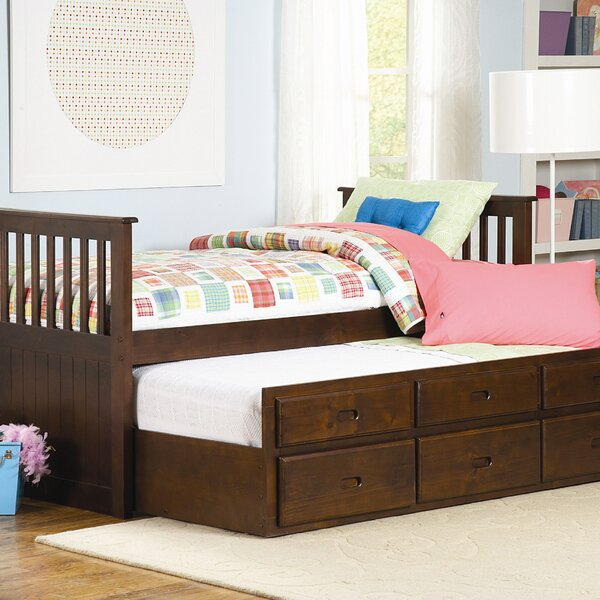 Zachary Twin Trundle Bed by Woodhaven Hill