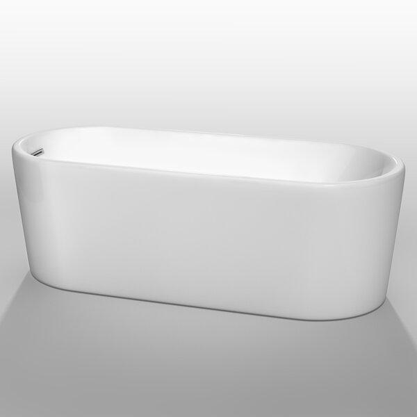 Ursula 67 x 27.5 Soaking Bathtub by Wyndham Collection