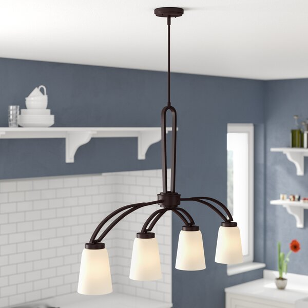 Casias 4-Light Kitchen Island Pendant by Andover Mills