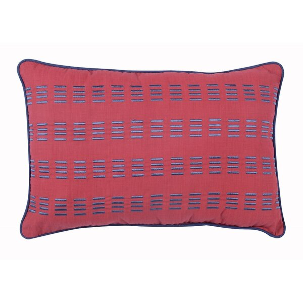 Preppy Plaid Lumbar Pillow by Morgan Home