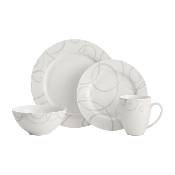 Symphony 16 Piece Dinnerware Set, Service for 4 by Oneida
