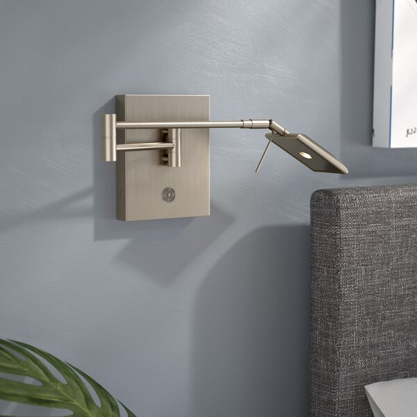 Heimbach LED Swing Arm Lamp by Wade Logan