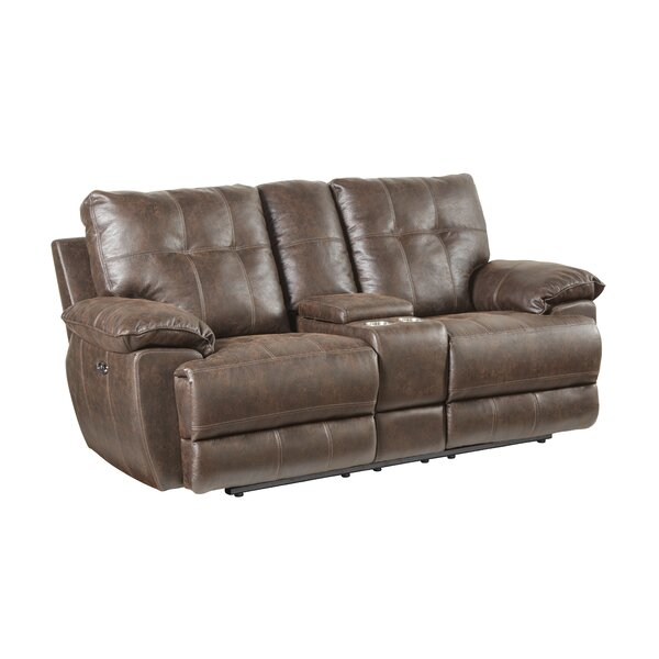 Shop The Best Selection Of Lucio Tuffed Reclining Loveseat by Williston Forge by Williston Forge