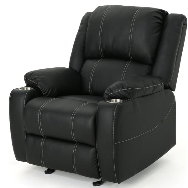 Hornick Traditional Manual Glider Recliner by Alcott Hill