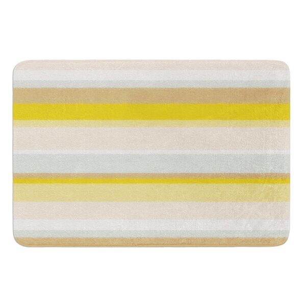 Desert Stripes by Nika Martinez Bath Mat by East Urban Home