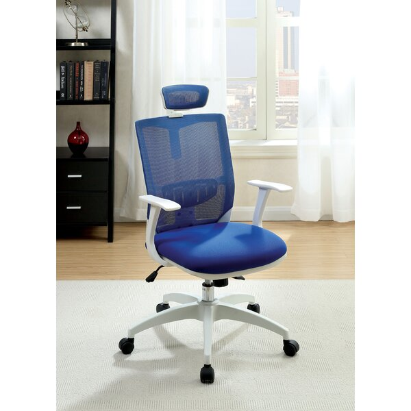 Macungie Contemporary Office Mid-Back Mesh Desk Chair by Latitude Run