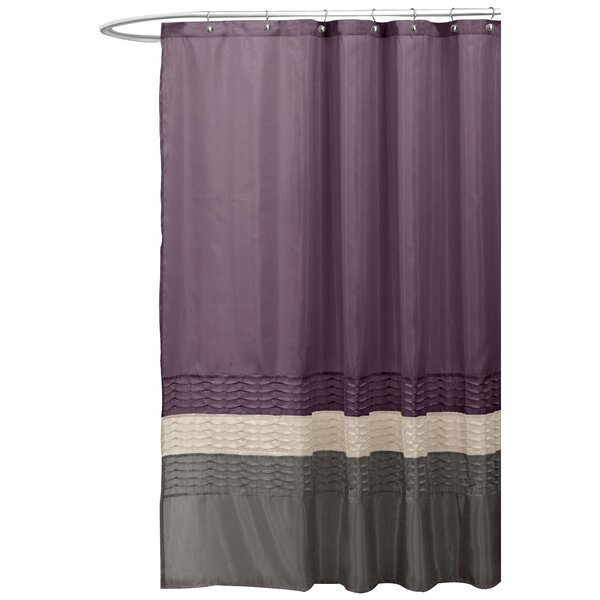 Bourgoin Shower Curtain by Three Posts