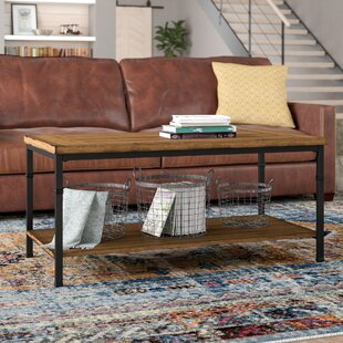Read Reviews Knapp Coffee Table By Trent Austin Design