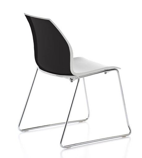 Vortex Sled Base Guest Chair by Gordon International
