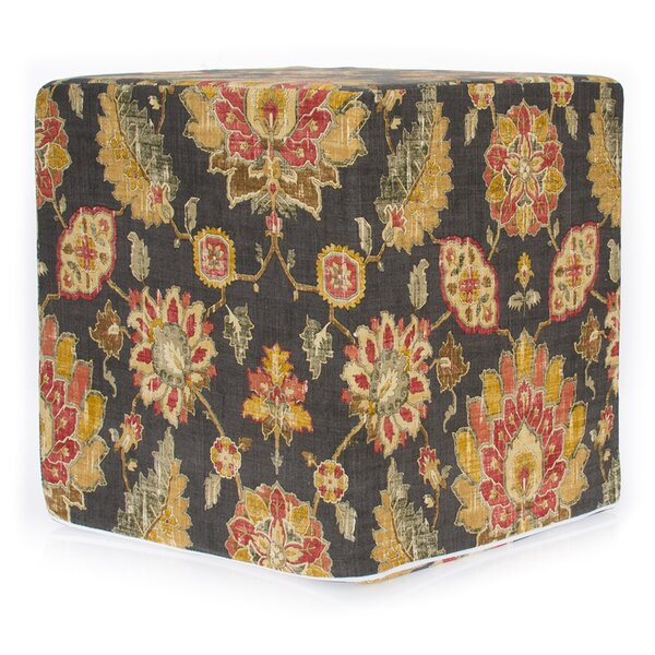 Tena Decorative Cube Ottoman by Charlton Home