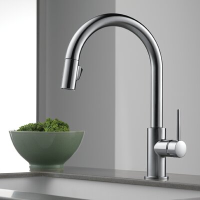 Kitchen Faucet Single Handle Docking Seal Arctic Stainless photo