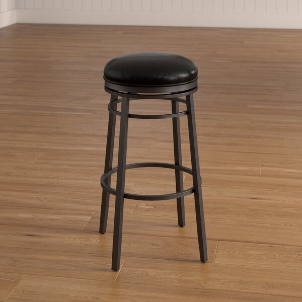 Lafferty 26 Swivel Bar Stool by Red Barrel Studio