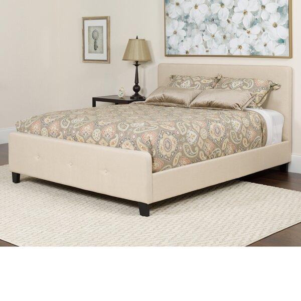 Konen Tufted Upholstered Platform Bed With Mattress by Alcott Hill Alcott Hill