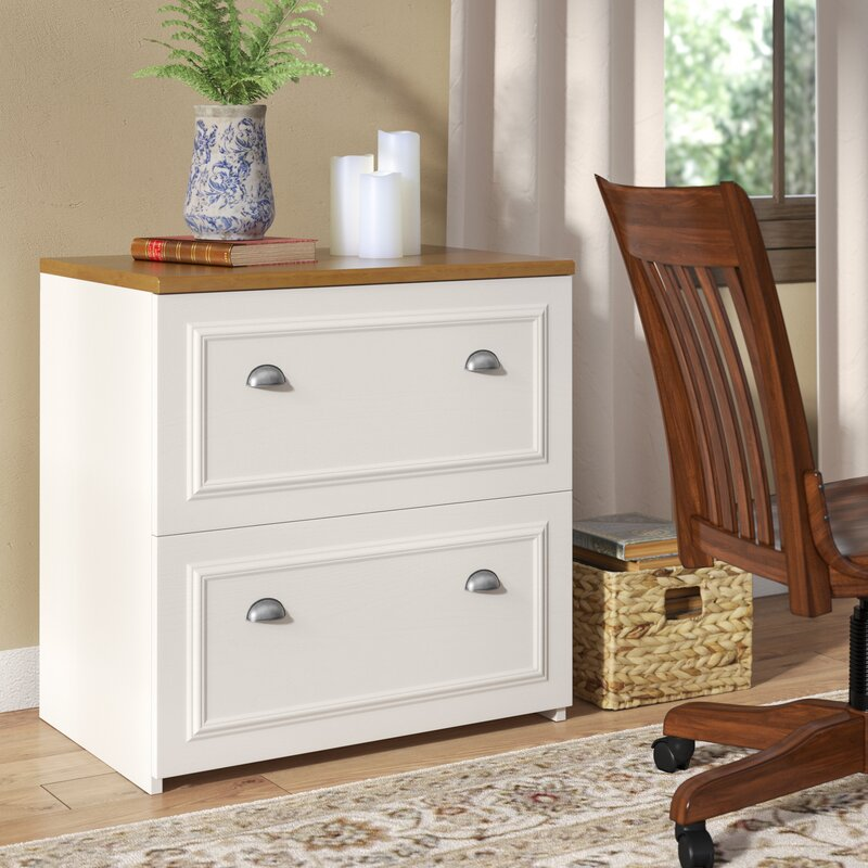 Bon Oakridge 2 Drawer Lateral Filing Cabinet