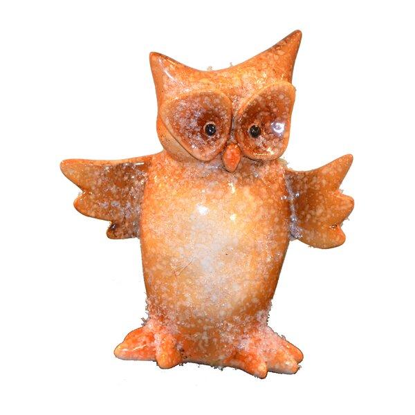 Armer Standing Owl Figurine by Loon Peak