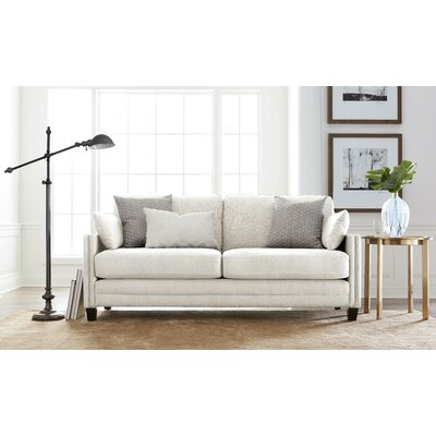 Arm Sofa Square Ivory pic