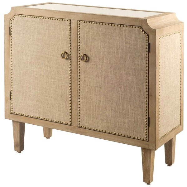 Plinio 2 Door Accent Cabinet by One Allium Way One Allium Way