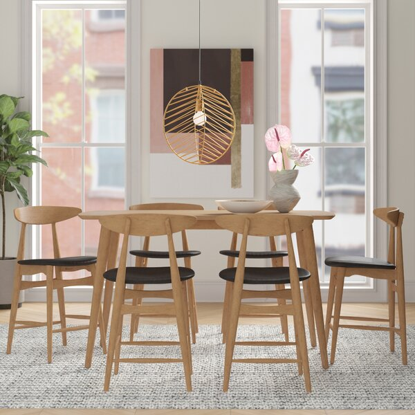 Caro 5 Piece Counter Height Dining Set by Foundstone Foundstone