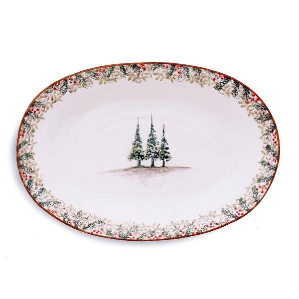 Natale Platter by Arte Italica
