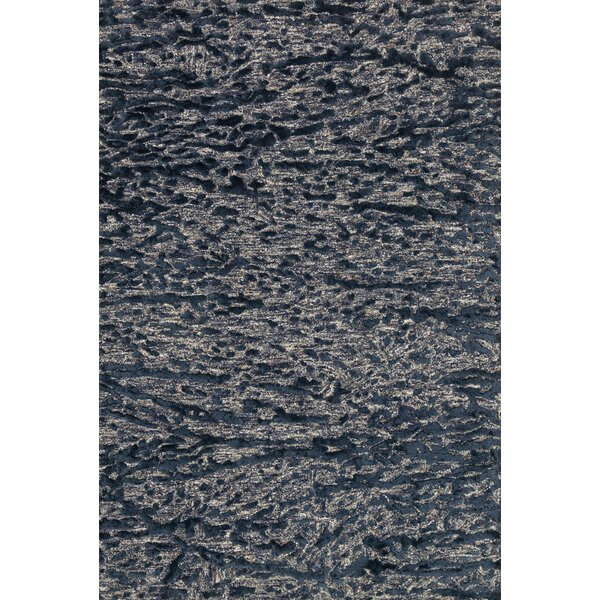 Juneau Hand-Hooked Blue Area Rug by Loloi Rugs
