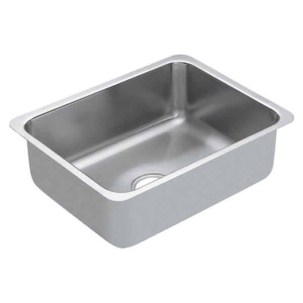 1800 Series 21 L x 16 W 1 Undermount Kitchen Sink by Moen