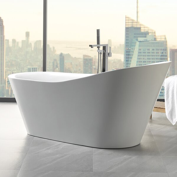 Emely 71 x 32.5 Soaking Bathtub by Eviva