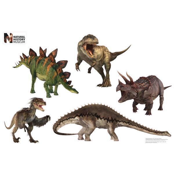 Dinosaur Group Layout Wall Decal by Advanced Graphics