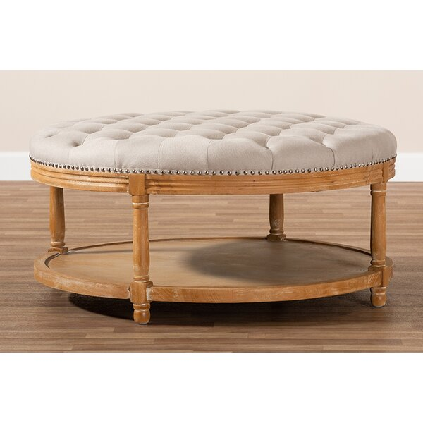 Andre Button Tufted Cocktail Ottoman By One Allium Way