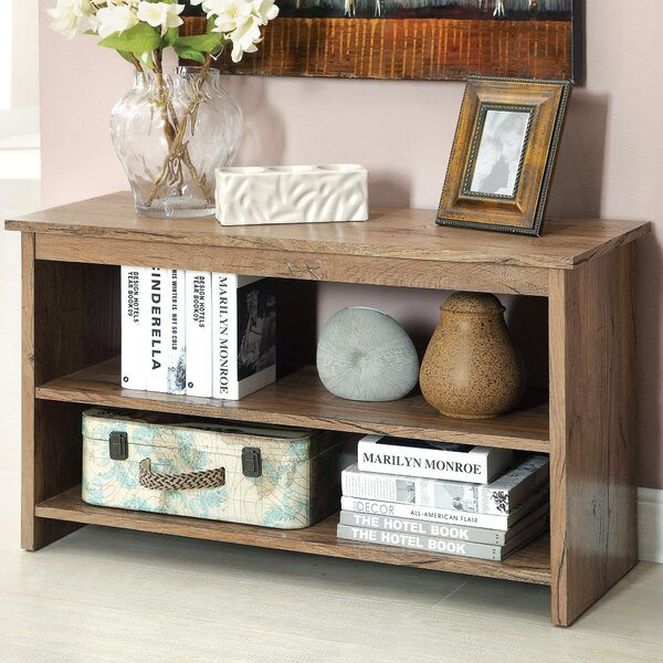Waldon Open Shelf Console Table By Hokku Designs.