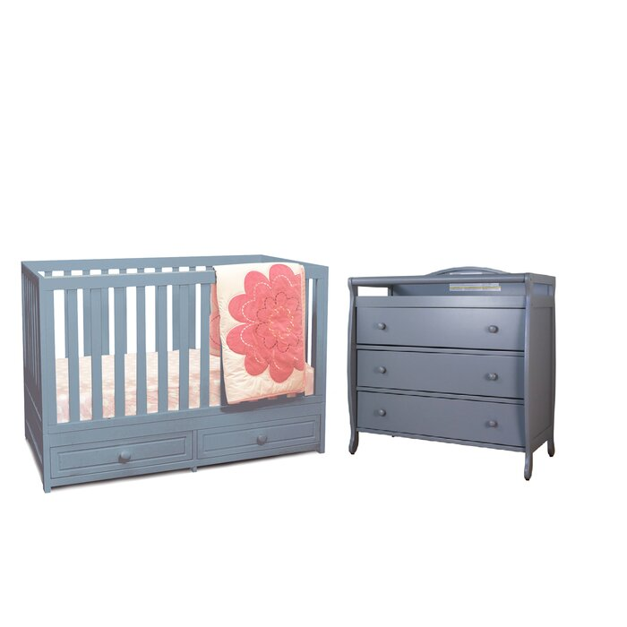 Convertible Standard 2 Piece Nursery Furniture Set