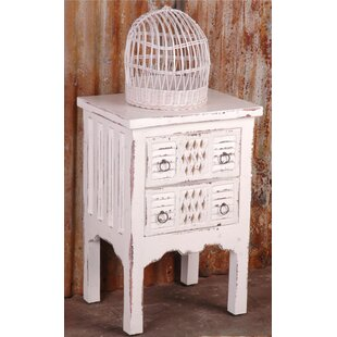adelmo whitewashed end table - Whitewashed End Tables