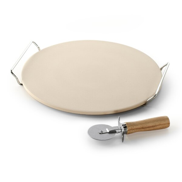 3 Piece Pizza Stone Set by Nordic Ware