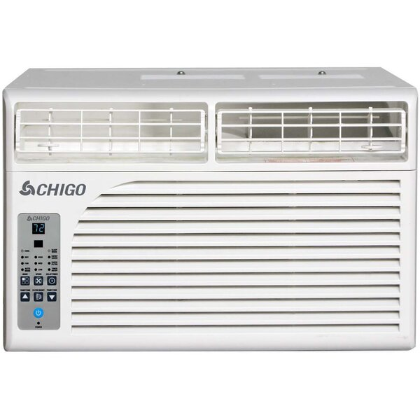 6,400 BTU Energy Star Window Air Conditioner with Remote by Chigo