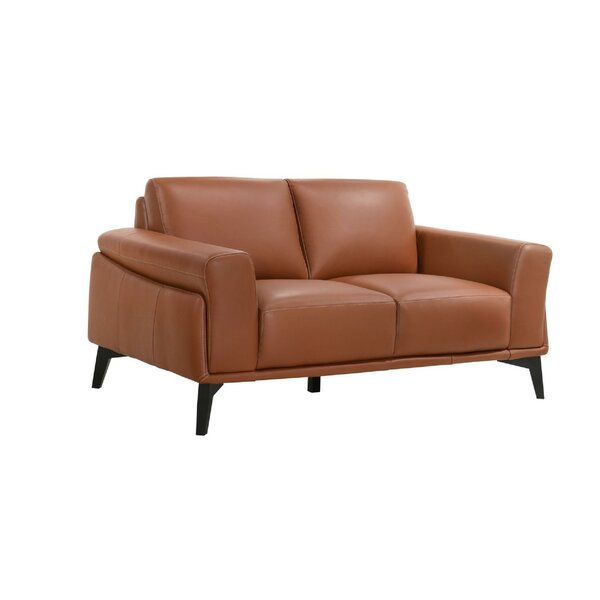 Rambo 63'' Flared Arm Loveseat by 17 Stories 17 Stories