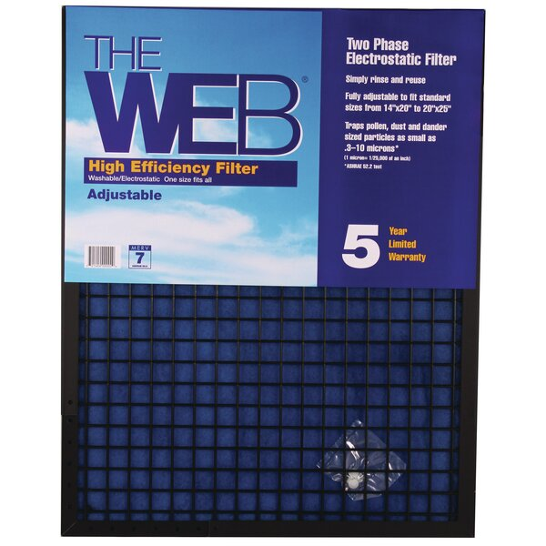 High Efficiency Adjustable Air Conditioner Air Filter by WEB Products