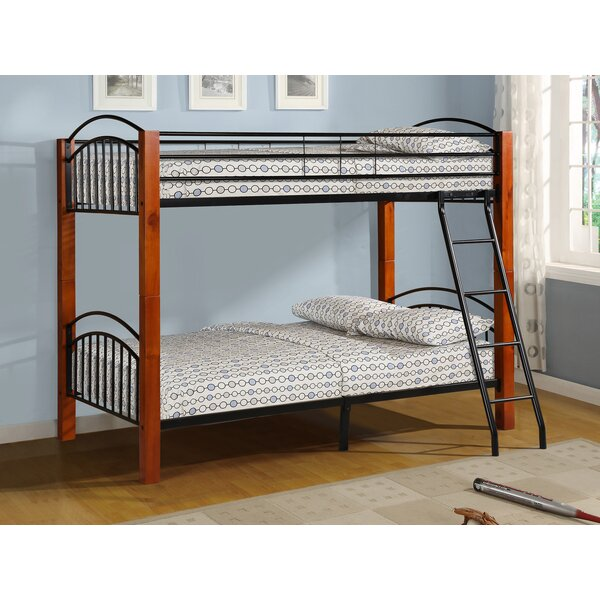 Harland Twin over Twin Bunk Bed by Harriet Bee