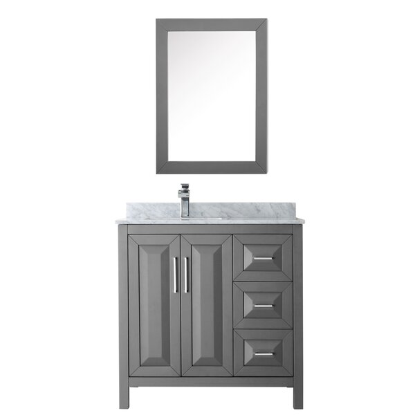 Daria 36 Single Bathroom Vanity Set with Medicine Cabinet by Wyndham Collection