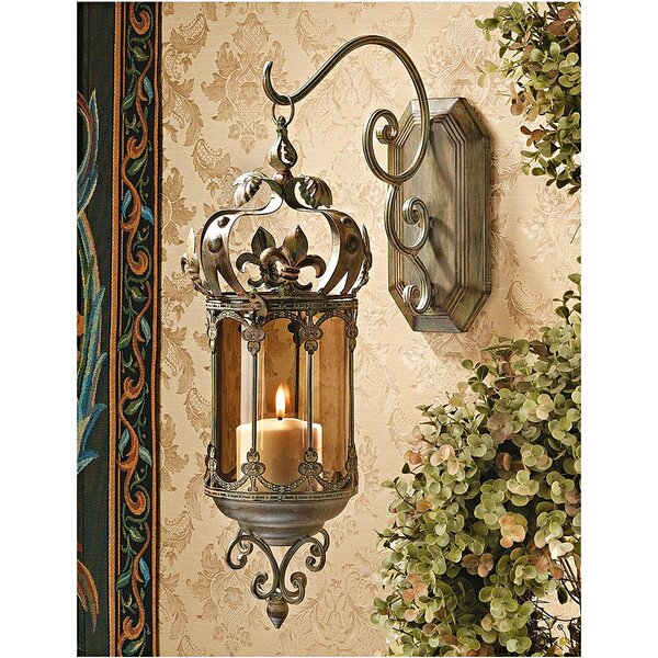 Crown Royale Metal Lantern (Set of 2) by Design Toscano