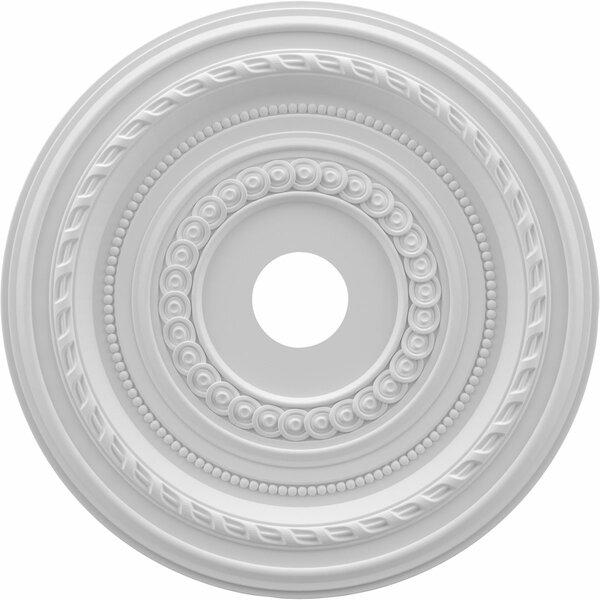 Cole 1H x 22W x 22D Ceiling Medallion by Ekena Millwork