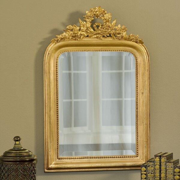 Wreath Accent Mirror by Hickory Manor House
