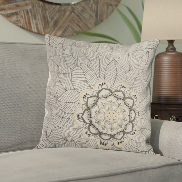 Scaife Cotton Throw Pillow by Bungalow Rose