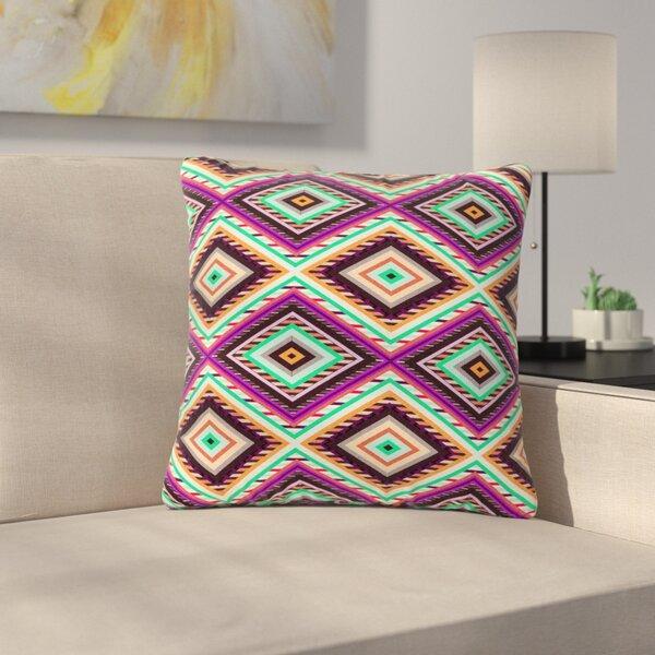 Vasare Nar Boho Gipsy Outdoor Throw Pillow by East Urban Home
